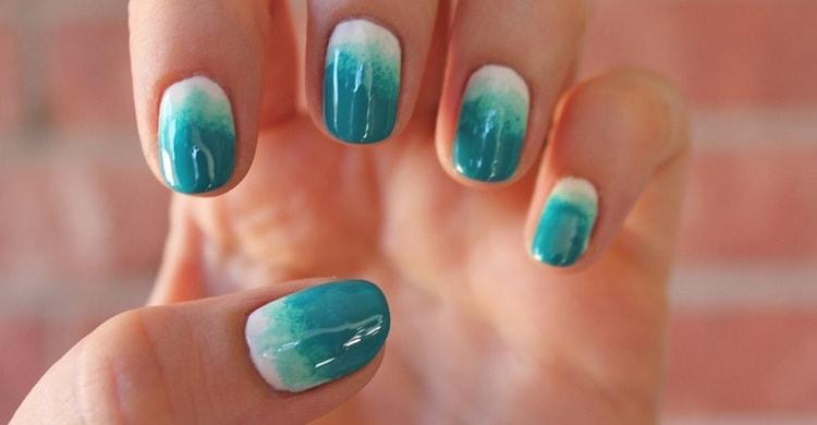 Посмотрите фото дизайна ногтей омбре.