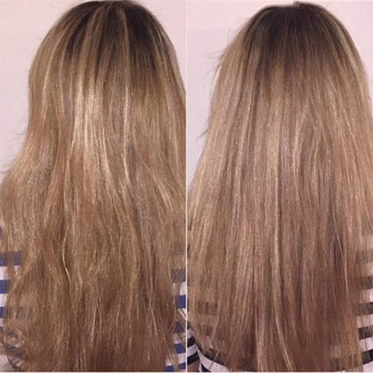 Волосы становятся сильнее, быстрее растут.