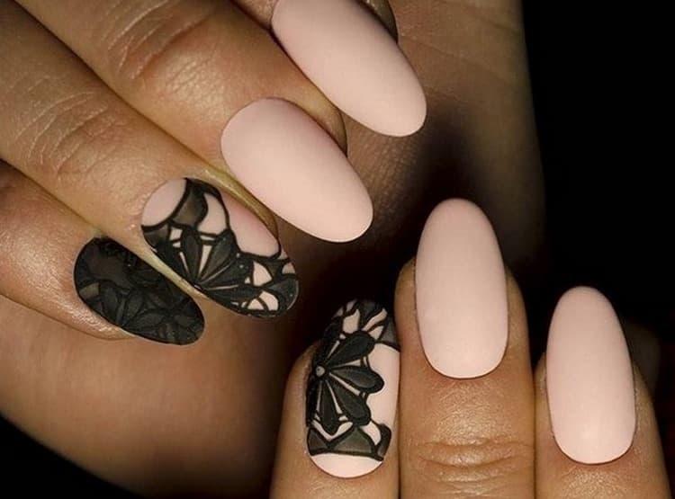 очень изысканный дизайн ногтей.