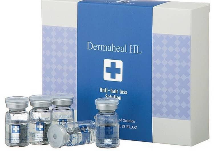 Популярным препаратом для мезотерапии волос является Дермахил.