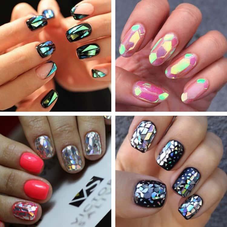 А вот разнообразные варианты для летнего дизайна ногтей.