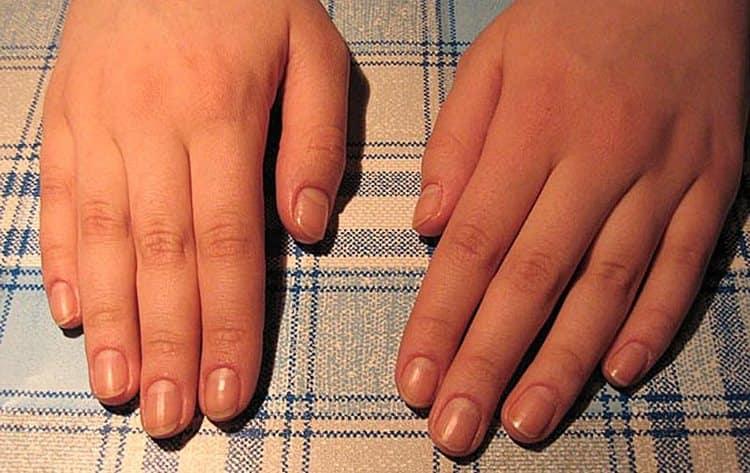 Для наращивания ногтей под френч необходимо подготовить руки, сделав качественный обрезной маникюр.