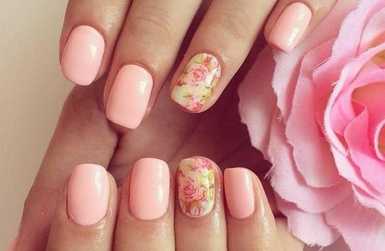 Наверное, самые нежные оттенки в дизайне ногтей это розовые.