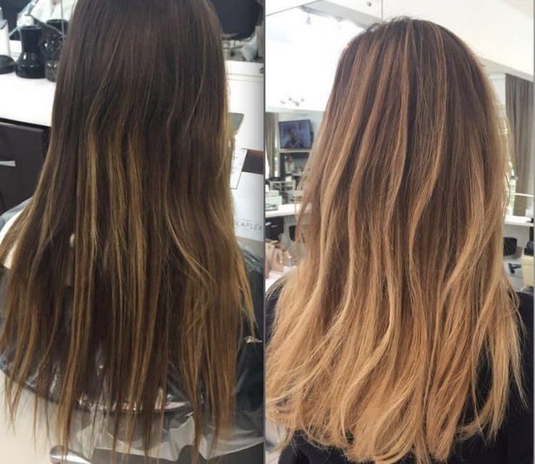окрашенные в такой технике волосы выглядят очень эффектно.