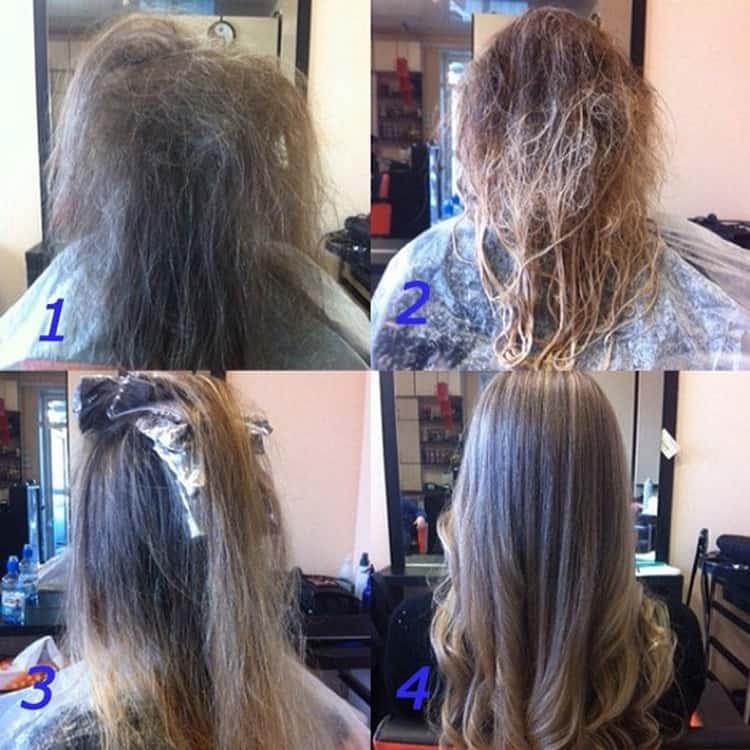 Техника окрашивания волос шатуш в домашних условиях непростая.