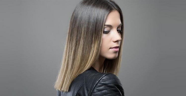 Посмотрите также фото омбре на русые волосы средней длины.