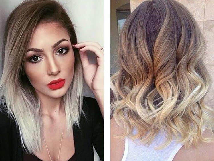 Такая техника отлично подходит для волос средней длины.