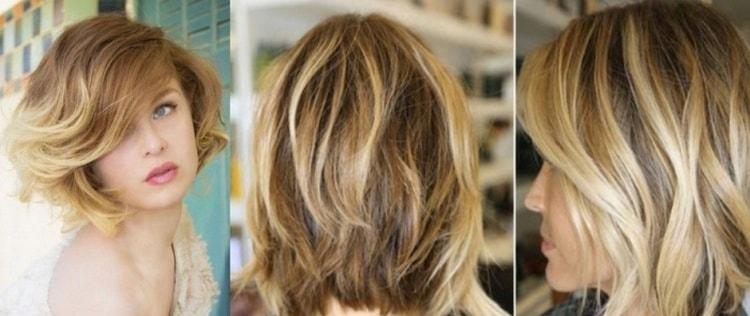 Умелый мастер и на короткие волосы сможет сделать удачное окрашивание омбре.