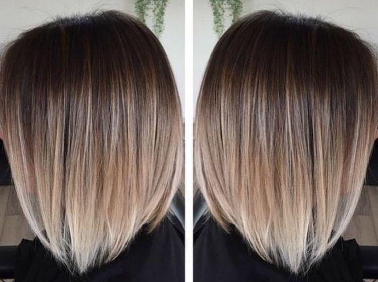 Для короких волос тоже можно сделать омбре или отдать предпочтение балаяжу.