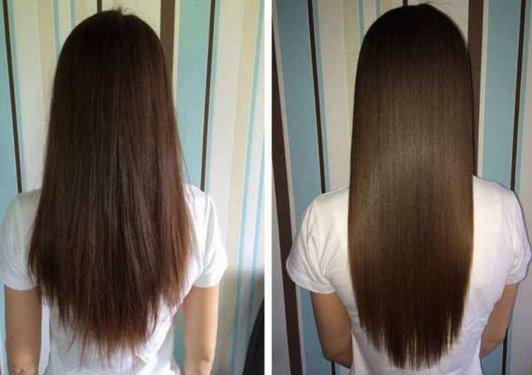 Волосы становятся более шелковистыми.