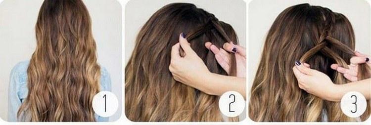 Посмотрите также видео о том, как сделать прически из косы на длинные волосы.