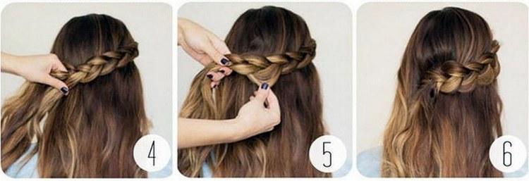Посмотрите видео о прическах на длинные волосы с косой.