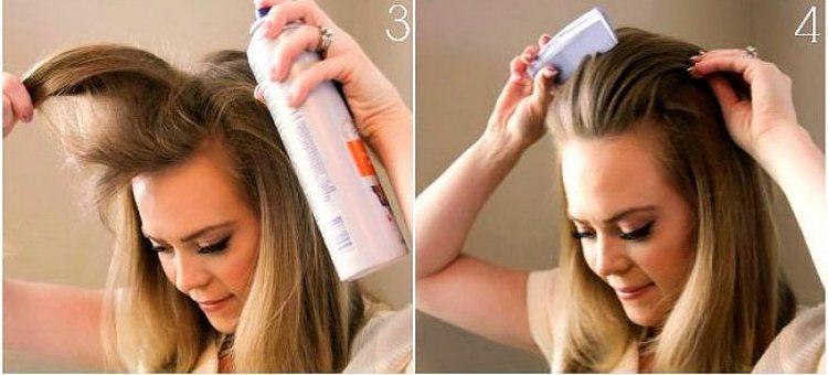 Можно сделать также прическу каскад на длинные волосы с челкой.