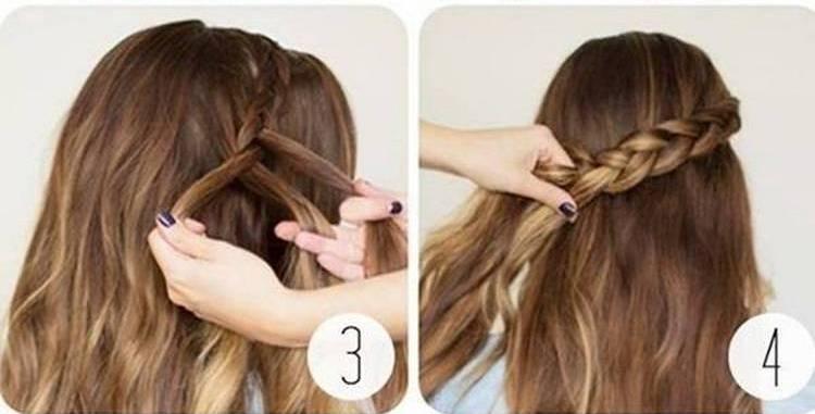 Посмотрите также видео о том, какие можно сделать прически в школу на длинные волосы.