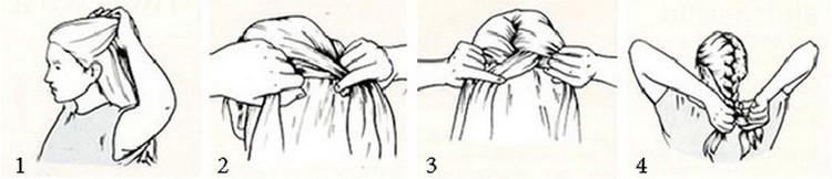 Посмотрите, как сделать красивую прическу на средние волосы своими руками.