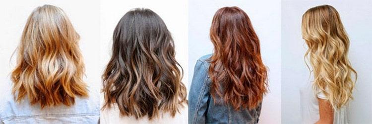 А вот вариант красивой стрижки на средние волосы с челкой.