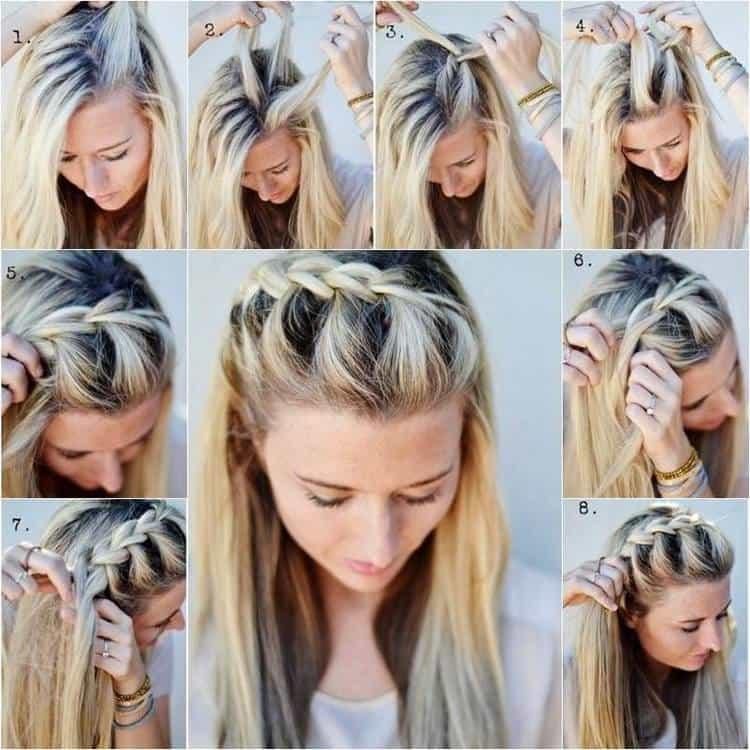 Посмотрите видео о том, как сделать красивые прически на выпускной на длинные волосы.