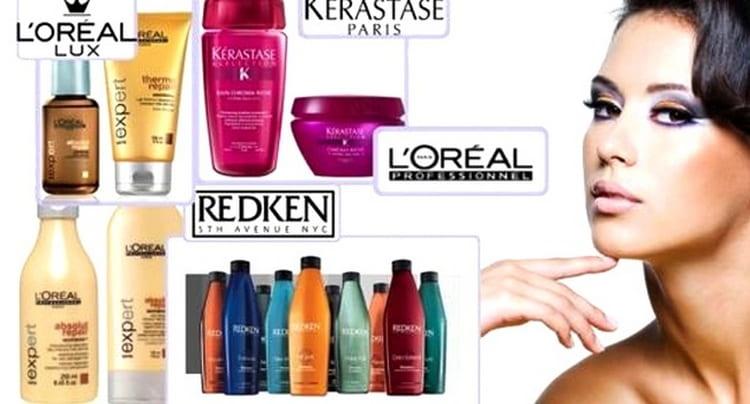 Рассмотрим основные бренды профессиональной косметики для волос.