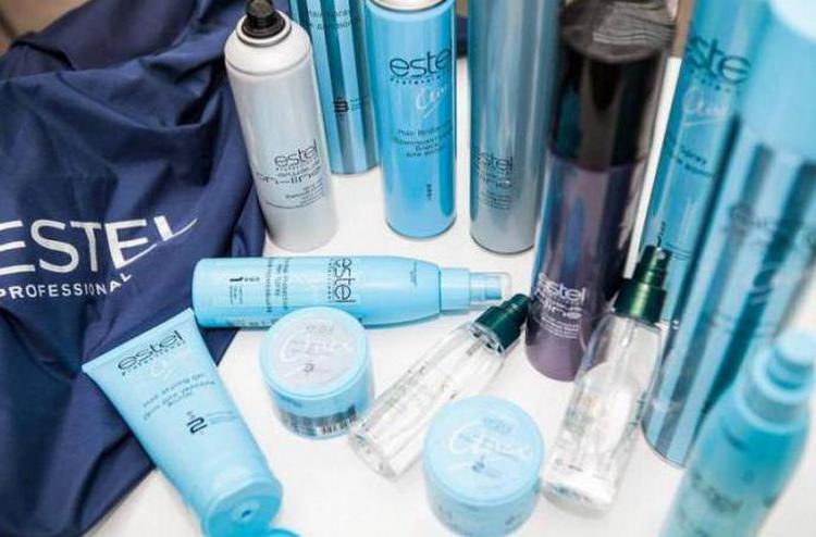 Большой популярностью пользуется профессиональная косметика для волос Estel.