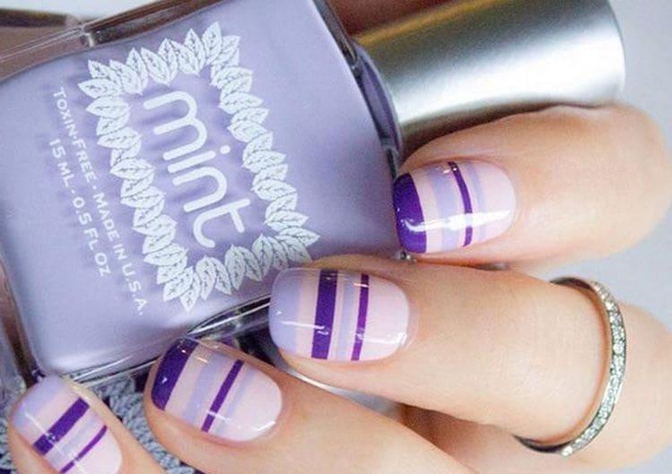 Посмотрите на фото новинки рисунка на ногтях гель-лаком.