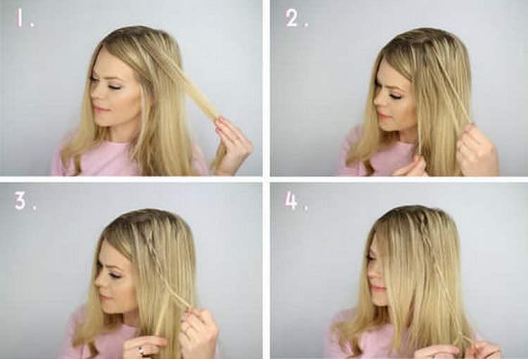 Посмотрите также видео о том, как сделать вечерние прически на средние волосы.