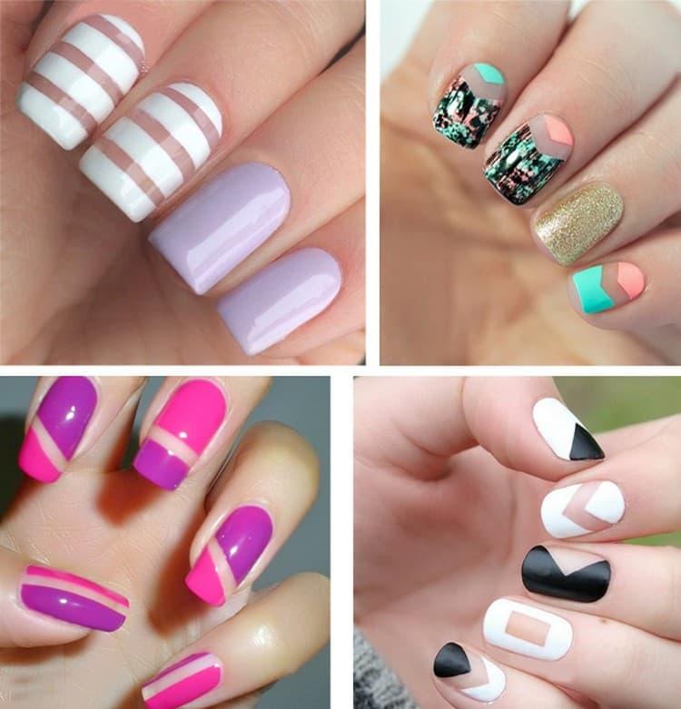 Обратите внимание также на яркий дизайн ногтей с блестками.
