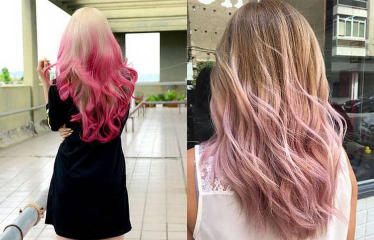 Как сделать балаяж на светлые волосы фото каре