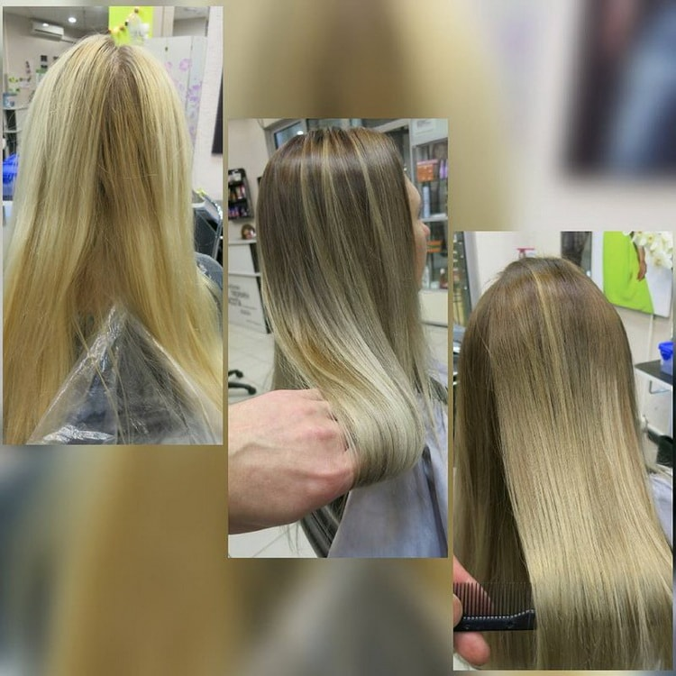 Как сделать балаяж на светлые длинные волосы: фото