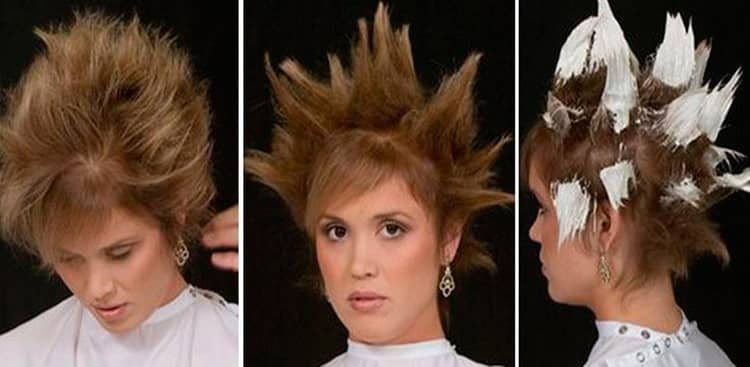 Покраска волос балаяж фото на светлые волосы