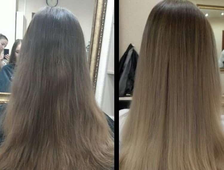 Как сделать балаяж на светлые волосы