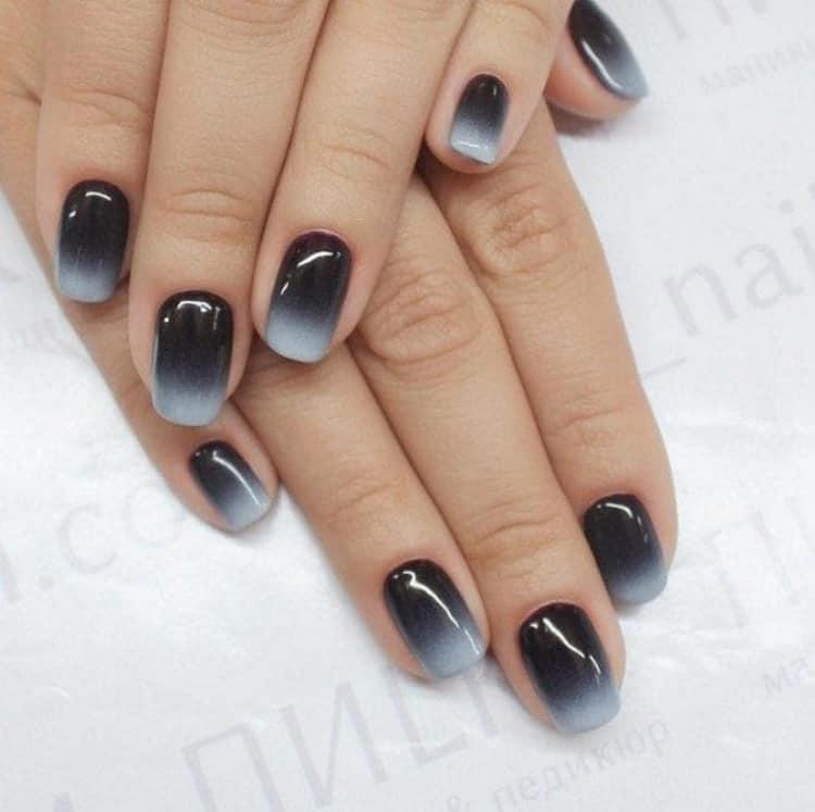 Как сделать дизайн ногтей в черно белом цвете, фото