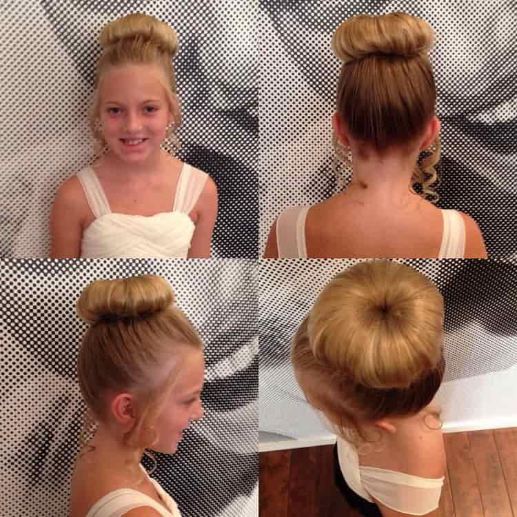 Как делается прическа детская на длинные волосы на праздник