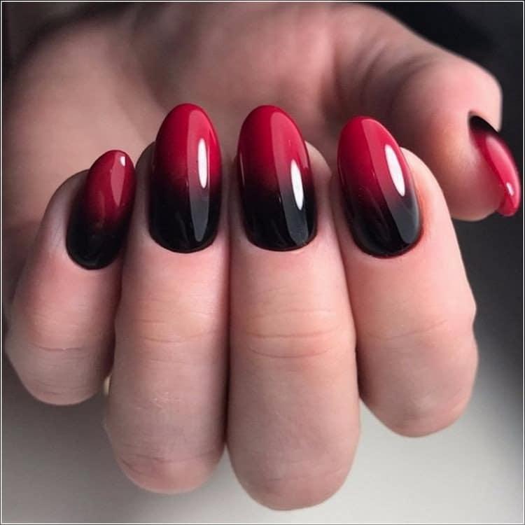 Как сделать дизайн ногтей с красным лаком