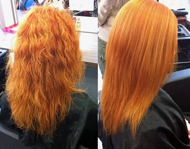 Все о том как восстановить сожженные волосы после осветления
