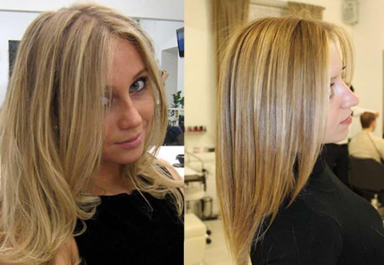 Как сделать колорирование на русые волосы средней длины: фото