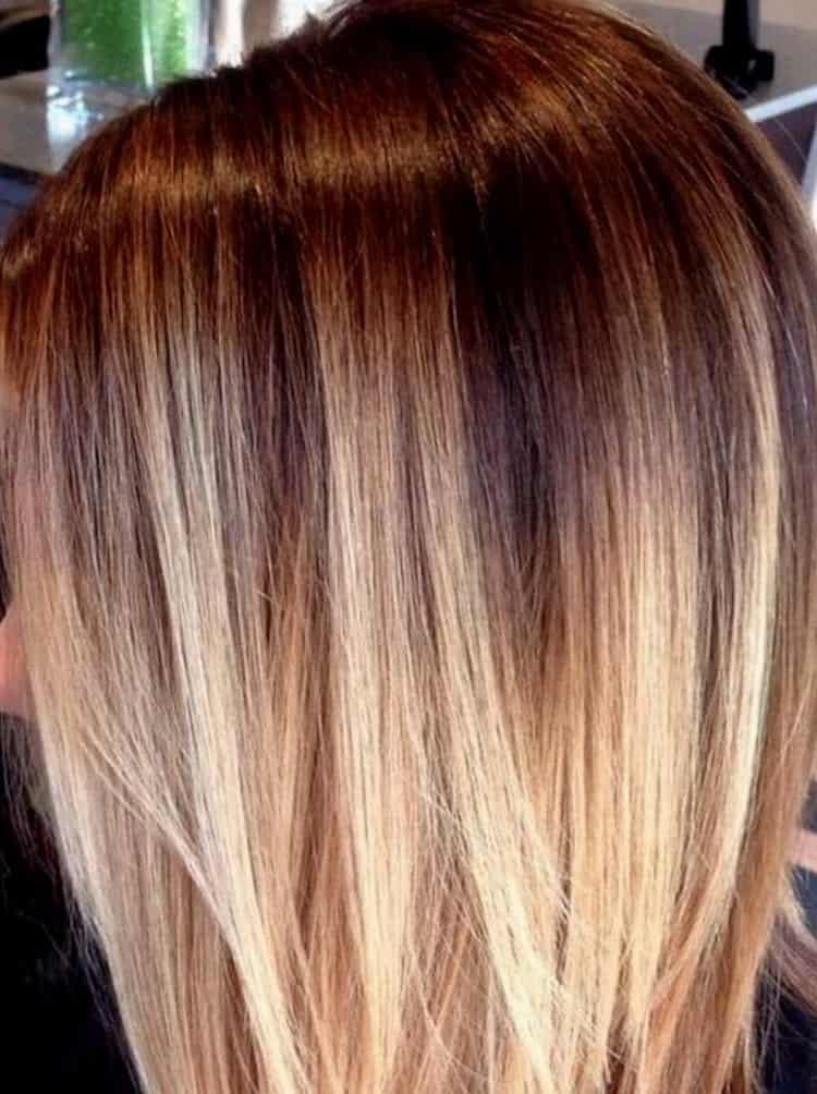 Как сделать колорирование на русые волосы: видео