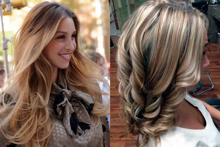 Колорирование на русые волосы: какие оттенки выбрать