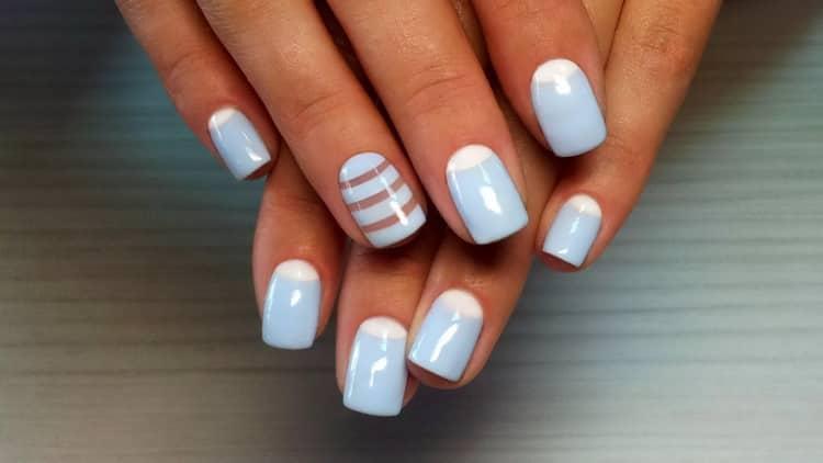 Как выглядят нарощенные ногти квадратной формы