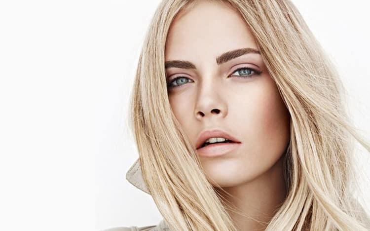 Техника и виды макияжа для светлых глаз и светлых волос с фото и видео
