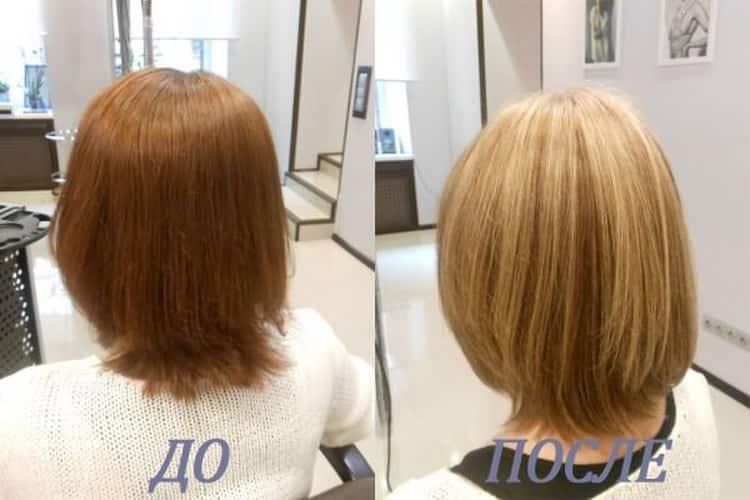 Как сделать мелирование на короткие волосы