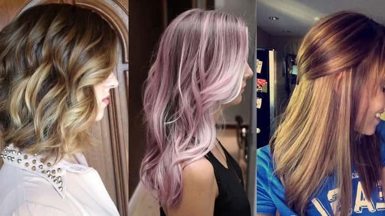Мелирование на светлые волосы с фото и видео