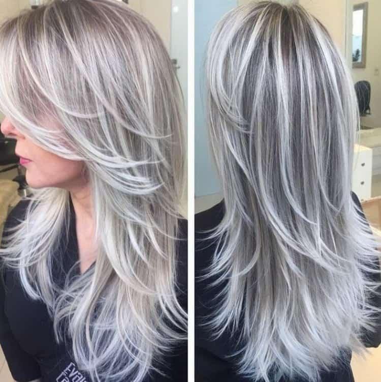 Как сделать цветное мелирование на светлые волосы: фото