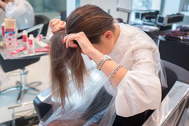 Мелирование на черные волосы: фото