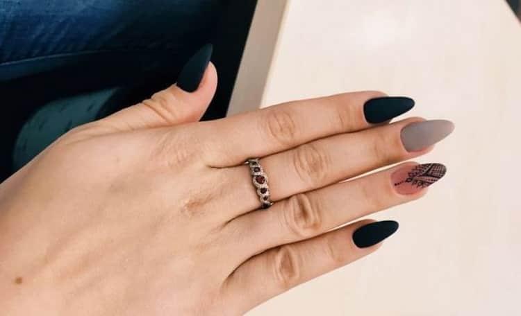 Как сделать маникюр на ногти миндалевидной формы
