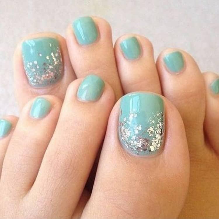 Как сделать наращивание ногтя на большом пальце ноги