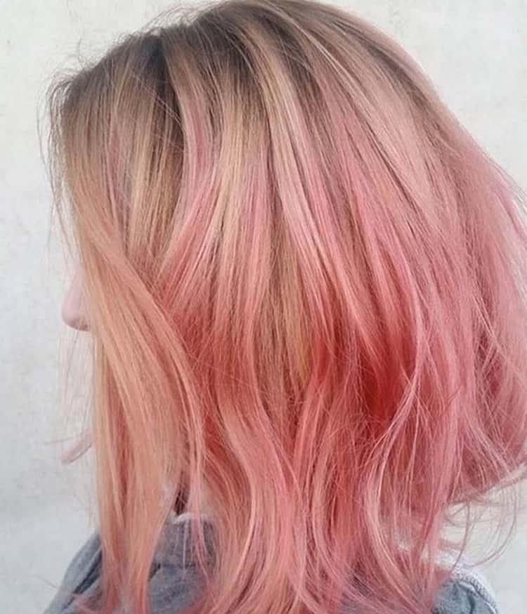 Омбре на короткие волосы фото с челкой