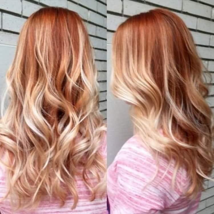 Омбре на светлые короткие волосы: фото