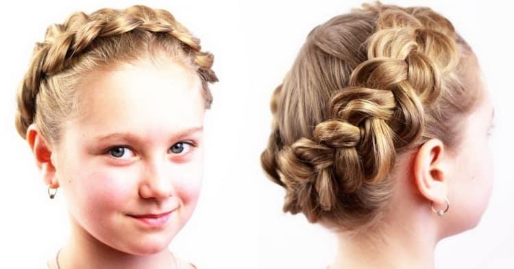 Как делаются красивые прически для девочек на длинные волосы