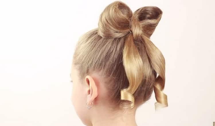 Простые прически на длинные волосы для девочек