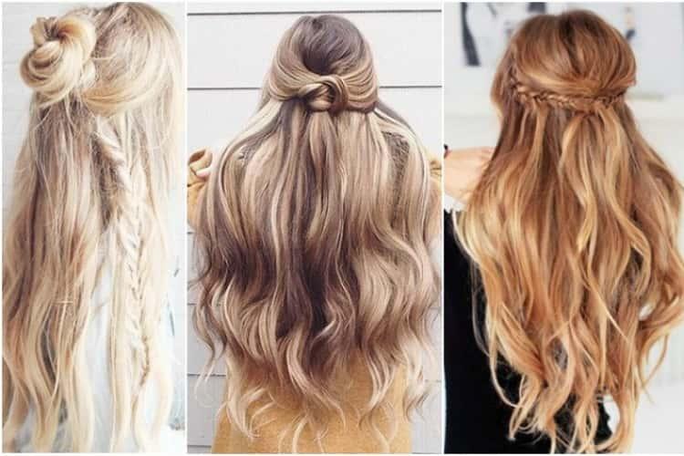 Как делать красивые повседневные прически на длинные волосы